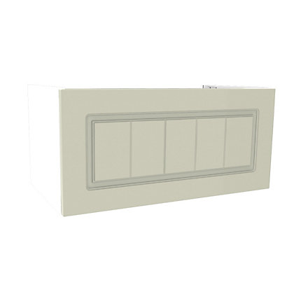 Image for Simply Hygena Chesham - Cream - 600mm Cooker Hood Cabinet from StoreName