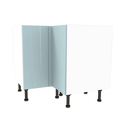 Image for Simply Hygena Turnham - Blue - 935mm High Line Corner Base Unit from StoreName