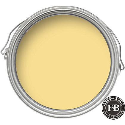 farrow ball estate yellow ground eggshell paint 750ml. Black Bedroom Furniture Sets. Home Design Ideas
