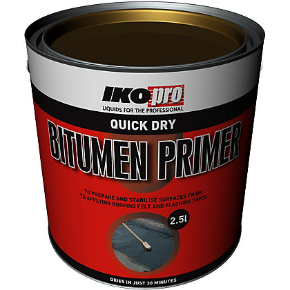 Image for IKOpro Quick Dry Bitumen Primer - 2.5L from StoreName