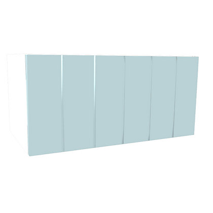 Image for Simply Hygena Turnham - Blue - 600mm Cooker Hood Cabinet from StoreName