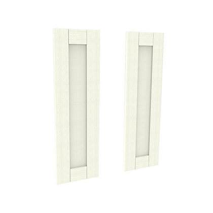 Image for Simply Hygena Southfield Ivory Larder Door - 297 x 976mm from StoreName