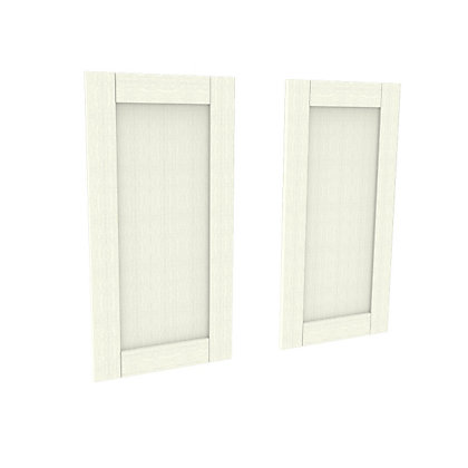 Image for Simply Hygena Southfield - Ivory - 497 x 976mm Larder Door - Pack of 2 from StoreName