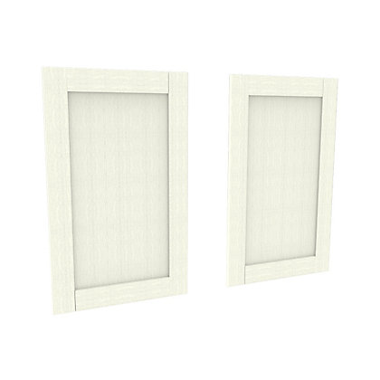 Image for Simply Hygena Southfield - Ivory - 597 x 976mm Larder Door - Pack of 2 from StoreName