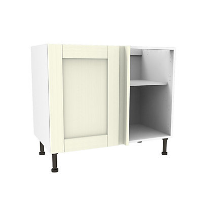 Image for Simply Hygena Southfield Ivory High Line Corner Base Unit - 1000mm from StoreName