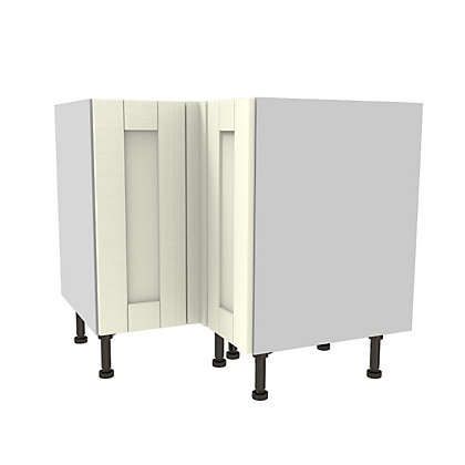 Image for Simply Hygena Southfield Ivory High Line Corner Base Unit - 935mm from StoreName