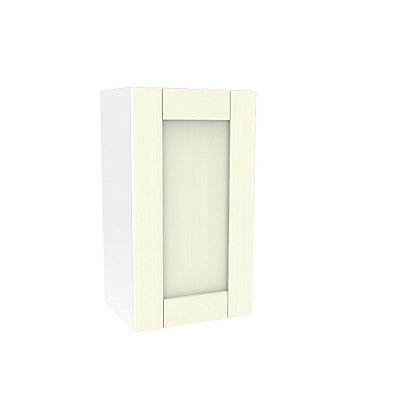 Image for Simply Hygena Southfield - Ivory - 400mm Wall Cabinet from StoreName