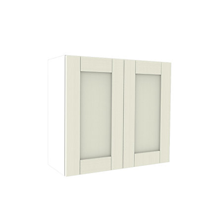 Image for Simply Hygena Southfield - Ivory - 800mm Wall Cabinet from StoreName