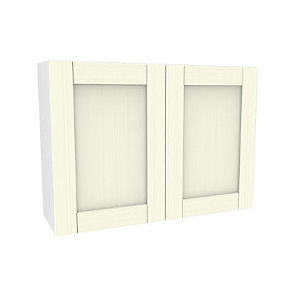 Image for Simply Hygena Southfield - Ivory - 1000mm Wall Cabinet from StoreName