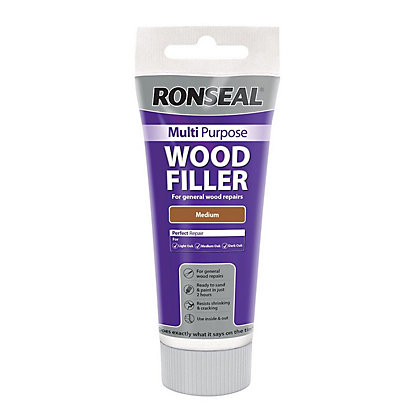 Image for Ronseal Multipurpose Wood Filler Tub - Medium - 325g from StoreName