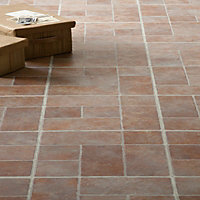 Stone Brick Effect Vinyl Tile - 0.56 sqm per pack