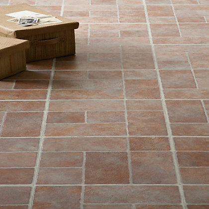Image for Stone Brick Effect Vinyl Tile - 0.56 sqm per pack from StoreName