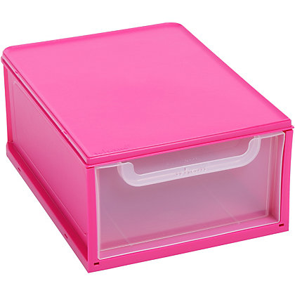 Image for Wham Stacker Drawer Pink from StoreName