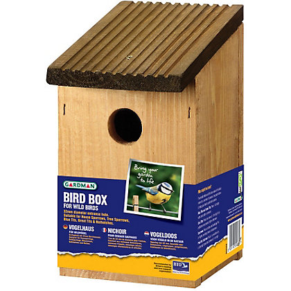 Image for Gardman Bird Nest Box from StoreName
