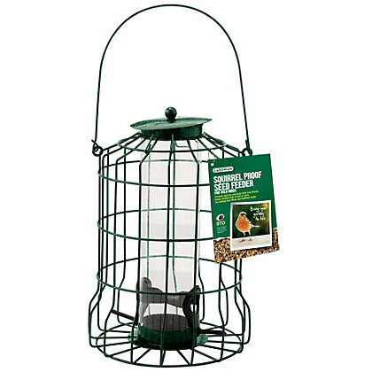 Image for Gardman Squirrel Proof Seed Feeder from StoreName