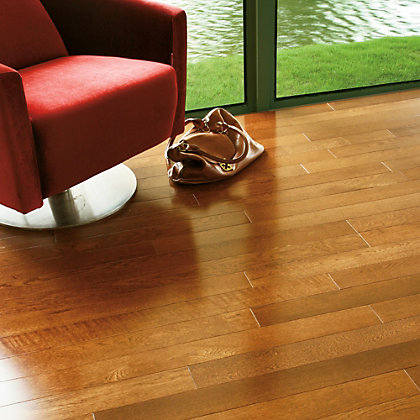 Image for Dalbury Solid Wood Oak Flooring - 1.19 sq m from StoreName