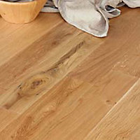 Bartram Solid Wood Oak Flooring - 1.15 sq m