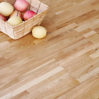 Buckingham Solid Wood Oak Flooring - 1.15 q m