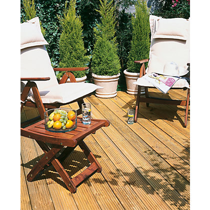 Image for 2.4m Patio Deck Board - Pack of 10 from StoreName