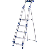 Abru 5 Tread Work Station Stepladder