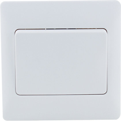 Image for Schneider Electric 16AX Single 2 Way Switch - White Rubber from StoreName