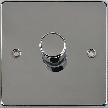 Image for Schneider Electric 400W/VA Single 2 Way Dimmer - Polished Chrome from StoreName