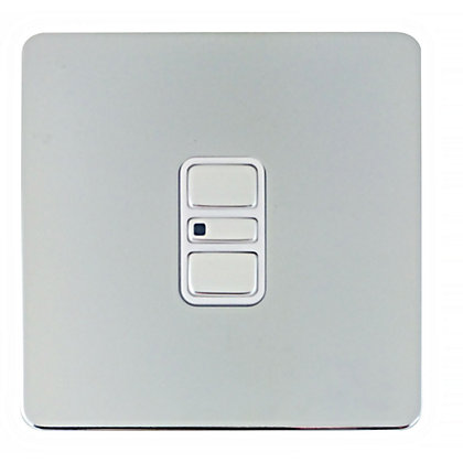 Image for Schneider Electric 300W/VA Single 2 Way Touch Dimmer - Polished Chrome from StoreName
