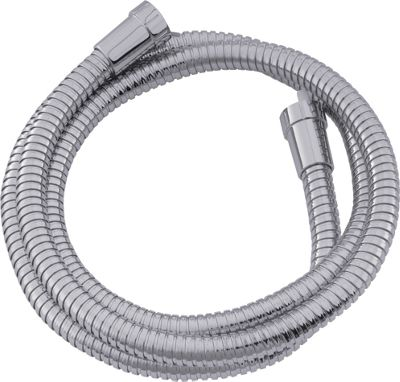 Premium Shower Hose - Chrome -1.75m