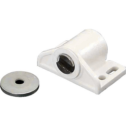 Image for Magnetic Catch - White - 33 x 26 x 17mm x 2 from StoreName