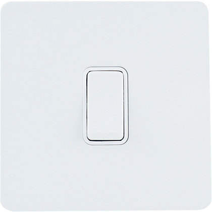 Image for Schneider Electric 16AX Single 2 Way Switch - Painted White from StoreName