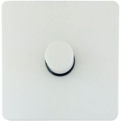 Image for Schneider Electric 400W/VA Single 2 Way Dimmer - Painted White from StoreName