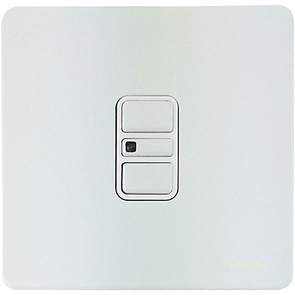 Image for Schneider Electric 300W/VA Single 2 Way Touch Dimmer - Painted White from StoreName