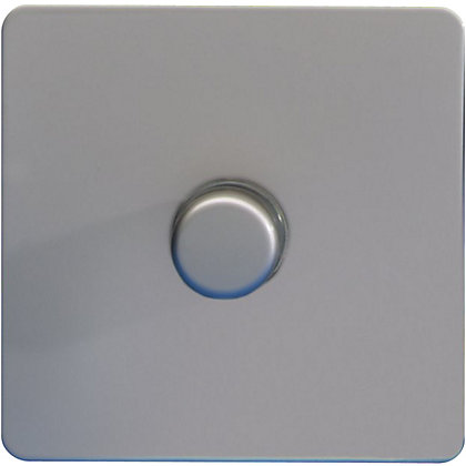 Image for Schneider Electric 400W/VA Single 2 Way Dimmer - Pearl Nickel from StoreName