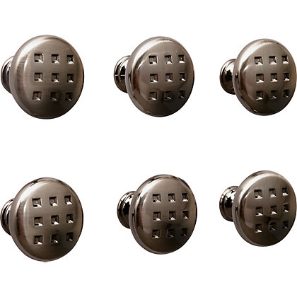 Image for Majestic Knob Black Nickel 30mm - Pack of 6 from StoreName