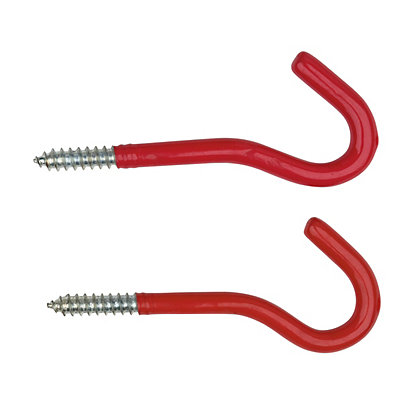 Image for Round Utility Hook - Red - 2 Pack from StoreName