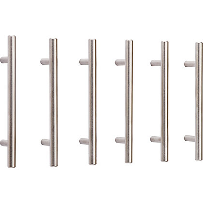 Image for T Bar Pull Stainless Steel 96mm - Pack of 6 from StoreName