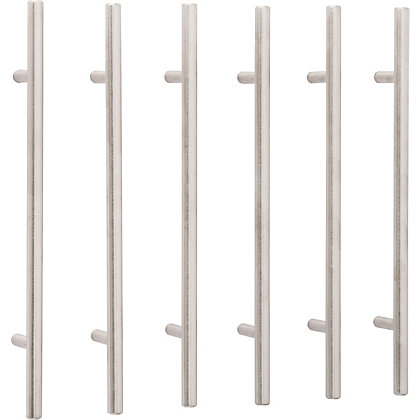 Image for T Bar Pull Stainless Steel 160mm - Pack of 6 from StoreName