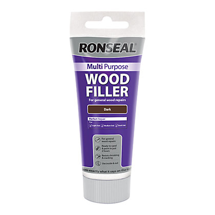 Image for Ronseal Multipurpose Wood Filler Tub - Dark - 325g from StoreName