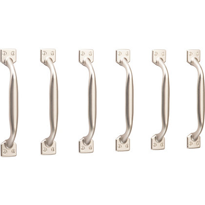 Image for Shaker Handle Matt Nickel 96mm - Pack of 6 from StoreName
