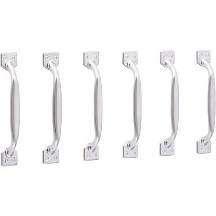 Image for Shaker Handle Matt Chrome 96mm - Pack of 6 from StoreName