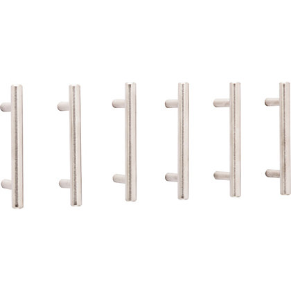 Image for T Bar Pull Stainless Steel 64mm - Pack of 6 from StoreName
