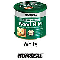 Ronseal High Performance Wood Filler - White - 275g