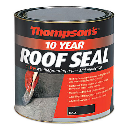 Image for Thompsons Roof Seal - Black - 1L from StoreName