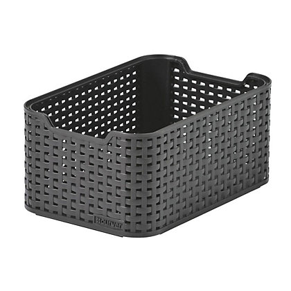 Image for Curver Rattan Style Box - Dark Brown - Small from StoreName