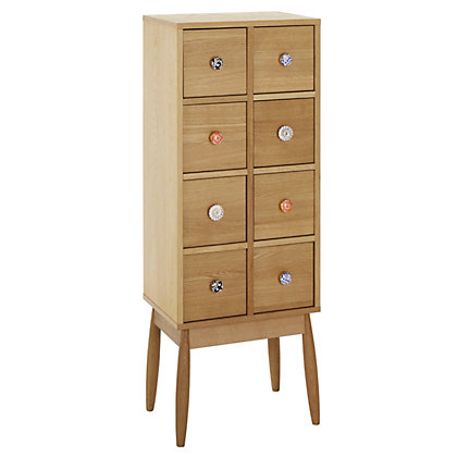 Image for Habitat Fleur 8 Drawer Cabinet from StoreName