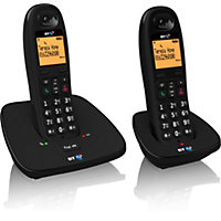 BT1000 Twin Corded DECT Telephone