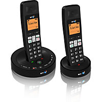 BT 3510 Twin Cordless Dect Telephone Answer machine - 2 handsets
