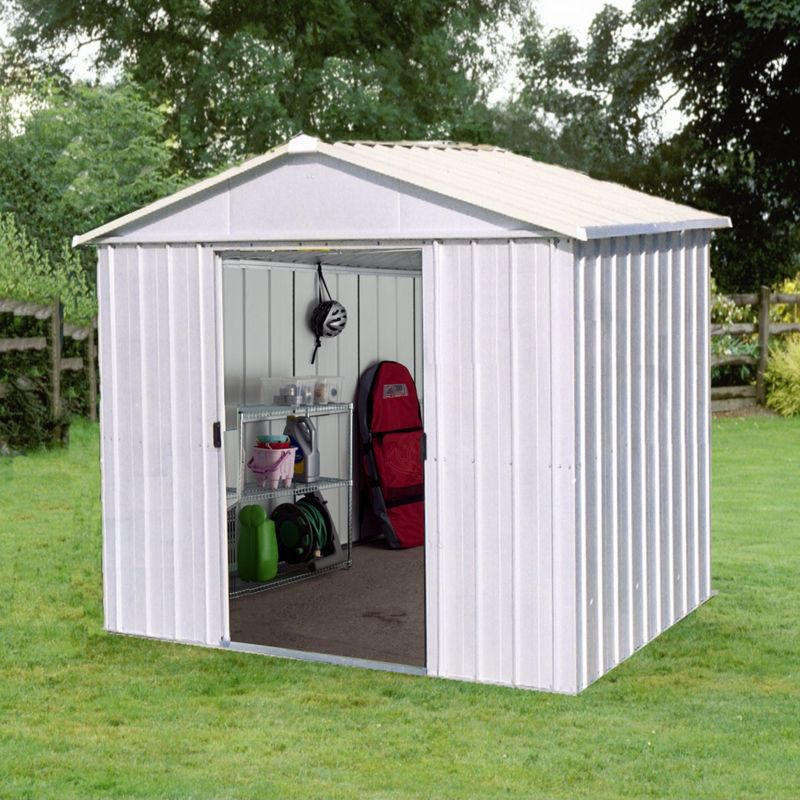 Shed X Roof Yardmaster Apex Roof Metal Shed 8ft X 7ft