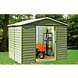 Yardmaster Shiplap Metal Shed - 8ft x 6ft