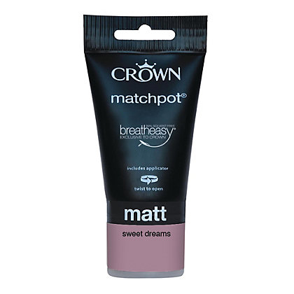 Image for Crown Breatheasy Sweet Dreams - Matt Standard Emulsion  - 40ml from StoreName